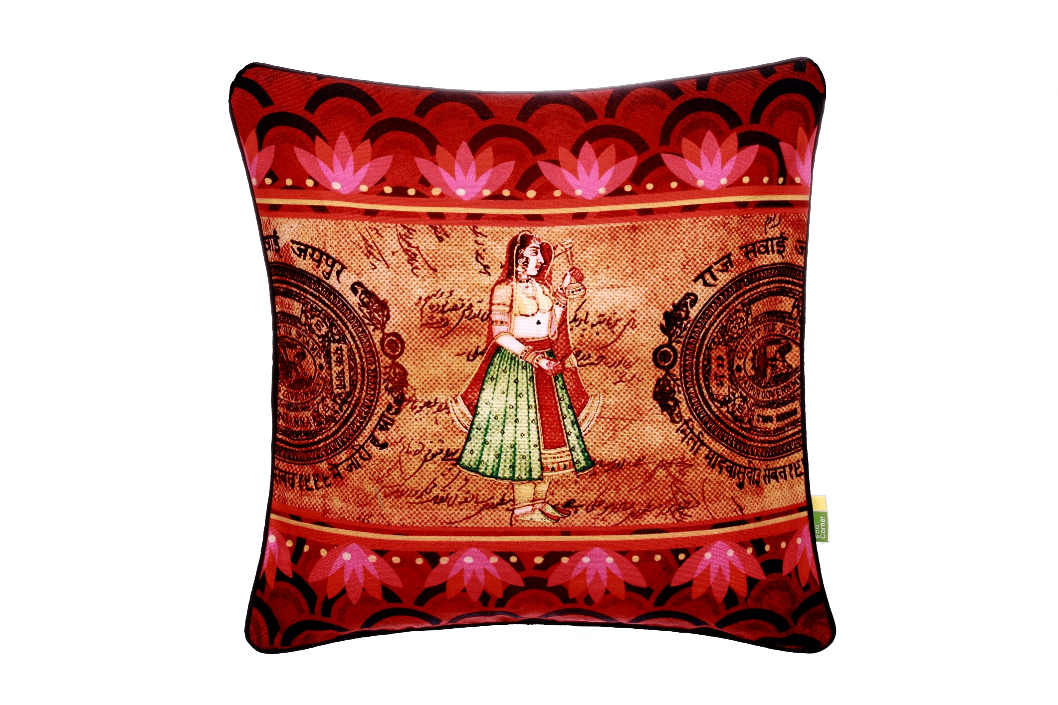 Eco Corner Indian Queen Cushion Cover