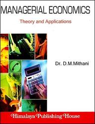 Business And Managerial Economics >> Managerial Economics-Theory And Applications