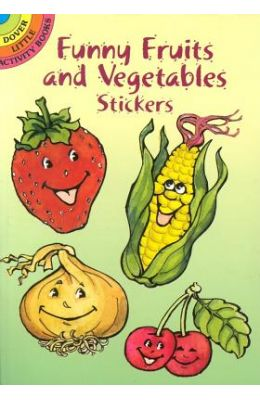 Funny Fruits and Vegetable Stickers