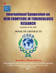 International Symposium New Frontiers In Tuberculosis Research