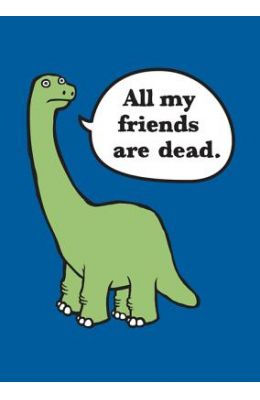 All My Friends Are Dead Felt Journal