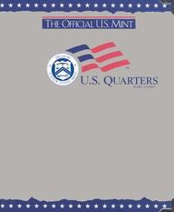 The Official U.S. Mint Quarters Coin Album