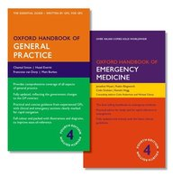Oxford Handbook of General Practice 4e and Oxford Handbook of Emergency Medicine 4e (Oxford Medical Handbooks)