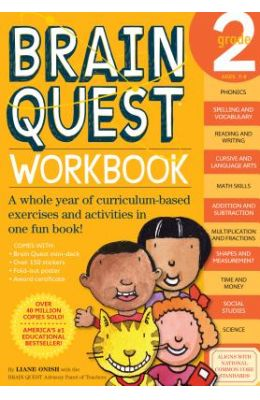 Brain Quest Grade 2 Work Book Age 7-8