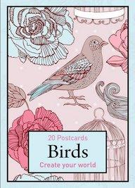 Birds - 20 Postcards: Create Your World