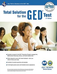 GED®Test, REA's Total Solution For the GED® Test (GED® & TABE Test Preparation)