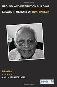 Hrd Od &  Institution Building Essays In Memory Of Udai Pareek