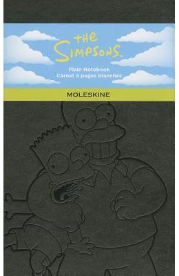 Moleskine The Simpsons Large Plain Notebook: Black
