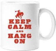 Keep Calm and Hang On Mug