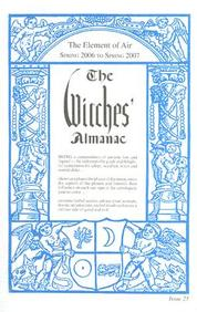 The Witches' Almanac: Spring 2006-Spring 2007 (Witches' Almanac: Complete Guide To Lunar Harmony)