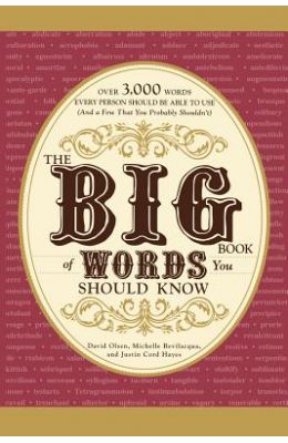 Big Book Of Words Should Know