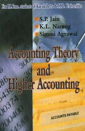 Accounting Theory & Higher Accounting : Mcom Kurukshetra & Md Universities