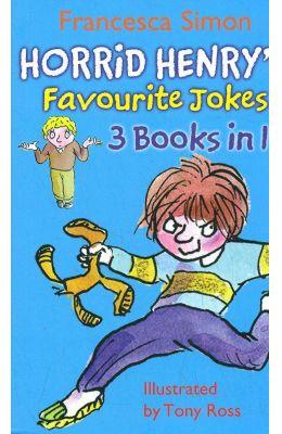 Horrid Henrys Favourite Jokes 3 Books In 1