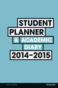 Student Planner and Academic Diary 2014-2015