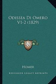 Odissea Di Omero V1-2 (1829)