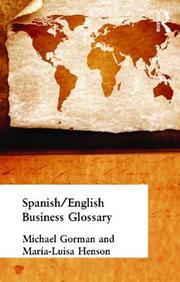 Spanish/English Business Glossary (Business Glossaries)