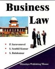 Law And Corporate Law >> Business Law