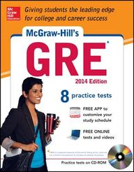 McGraw-Hill's GRE with CD-ROM, 2014 Edition (Mcgraw-Hill's Gre (Book & CD-Rom))