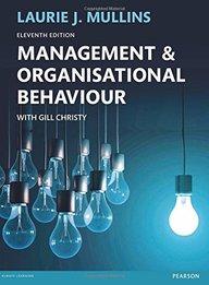 Management & Organisational Behaviour, 11th ed.