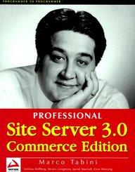 Professional Site Server 3.0 Commerce Edition