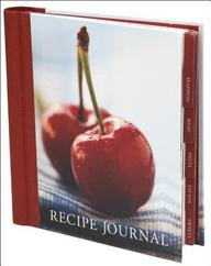 Cherry Recipe Journal (Spank Stationery)