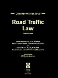 Practice Notes Road Traffic 3rd Edition (Practice Notes)