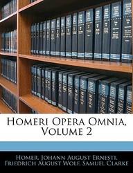 Homeri Opera Omnia, Volume 2