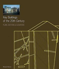 Key Buildings Of The 20th Century : Plans Sections & Elevations W/Cd