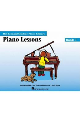 Piano Lessons - Book 1: Hal Leonard Student Piano Library