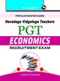 Popular Master Guide Navodaya Vidyalaya Teachers Pgt Economics Recruitment Exam