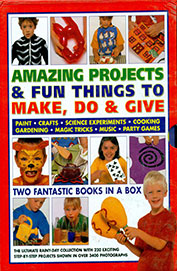 Amazing Projects & Fun Things To Make Do & Give Set Of 2 Vols