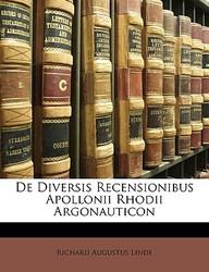 de Diversis Recensionibus Apollonii Rhodii Argonauticon