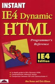 Instant IE4 Dynamic HTML Programmer's Reference