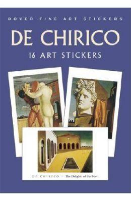de Chirico: 16 Art Stickers