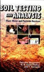 Soil Testing & Analysis Plant Water & Pesticide Residues