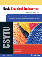 Basic Electrical Engineering : For the Chhattisgarh Swami Vivekanand Technical University