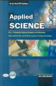 Applied Science For 1 & 2 Sem Diploma Students Of All Branches : With Lab Manual Free