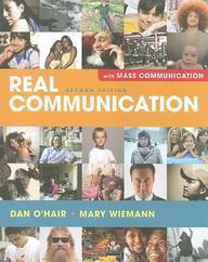 Real Communication: Mass Communication Alternate Edition: An Introduction