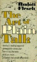 The Art of Plain Talk