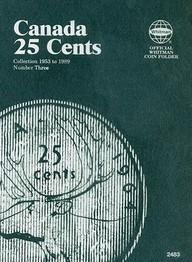 25 Cent Canadian Folder Vol. 3 (Official Whitman Coin Folder)