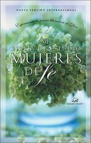 Nvi Biblia De Estudio Mujeres De Fe, Tapa Dura De Colores (Spanish Edition)