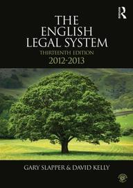 The English Legal System: 2011-2012