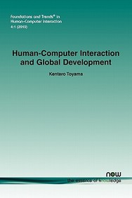 Human-Computer Interaction And Global Development