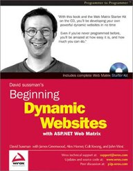 Beginning Dynamic Websites with ASP.NET Web Matrix