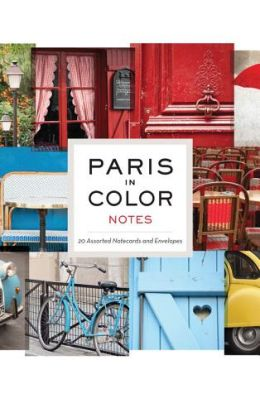 Paris in Color Notes [With 20 Envelopes]
