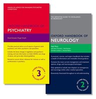 Oxford Handbook of Psychiatry and Oxford Handbook of Neurology (Oxford Medical Handbooks)