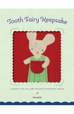 Tooth Fairy Keepsake: Under-The-Pillow Pocket & Memory Book [With Under-The-Pillow Pocket]