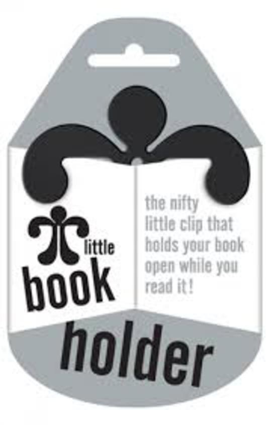 Little Book Holder-Holds Your Book Open- Black