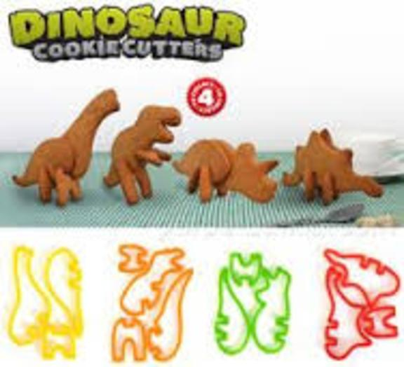 Suck Up Random 3D Dinosaur Cookie Cutters