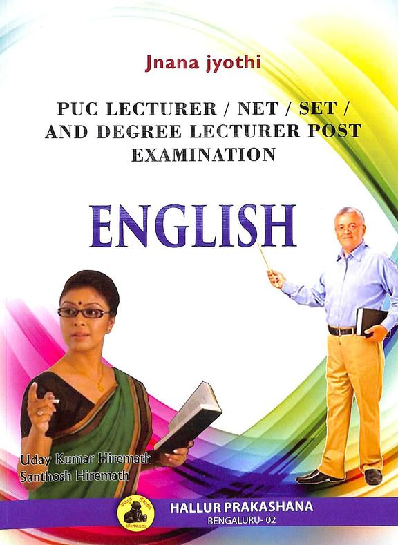 English Puc Lecturer Net Set & Degree Lecturer Post Examination